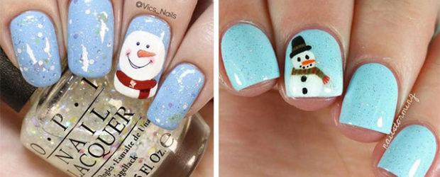 12-Christmas-Snowman-Nail-Art-Designs-Ideas-2018-Xmas-Nails-F