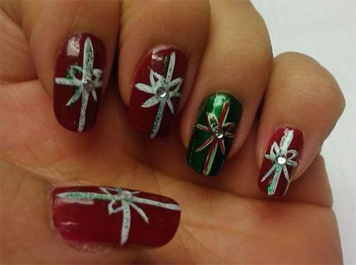 15-Christmas-Present-Nail-Art-Designs-&-Ideas-2018-Xmas-Nails-13