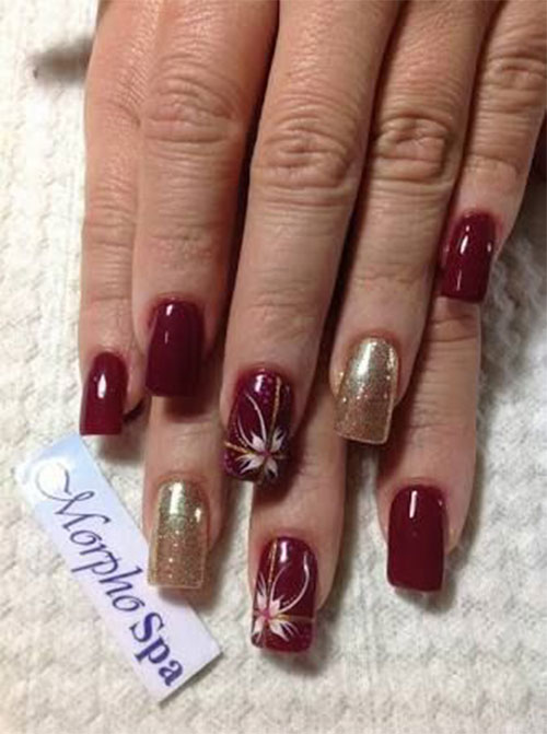 15-Christmas-Present-Nail-Art-Designs-&-Ideas-2018-Xmas-Nails-5