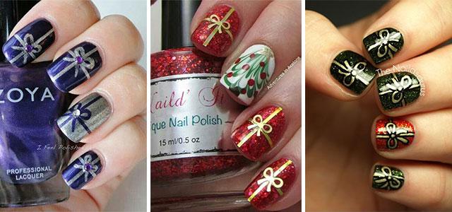 15-Christmas-Present-Nail-Art-Designs-&-Ideas-2018-Xmas-Nails-F