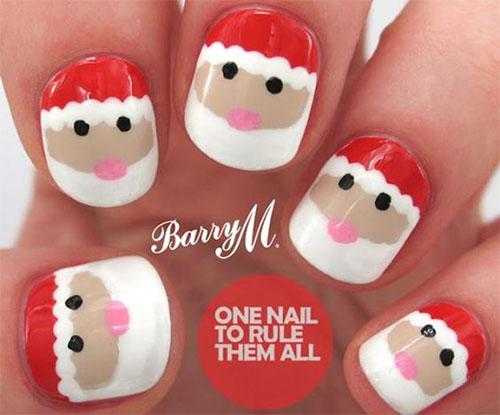 15-Christmas-Santa-Nail-Art-Designs-Ideas-2018-Xmas-Nails-13