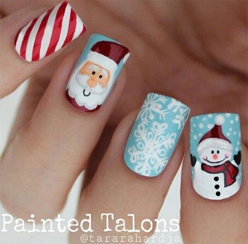 15-Christmas-Santa-Nail-Art-Designs-Ideas-2018-Xmas-Nails-14