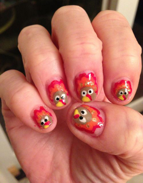 15-Turkey-Nail-Art-Designs-Ideas-2018-Thanksgiving-Nails-9