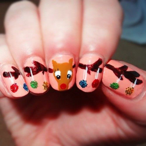 18-Christmas-Reindeer-Nail-Art-Designs-Ideas-2018-Xmas-Nails-12