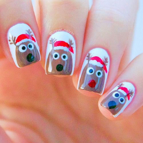 18-Christmas-Reindeer-Nail-Art-Designs-Ideas-2018-Xmas-Nails-15