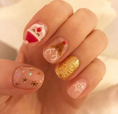 18-Christmas-Reindeer-Nail-Art-Designs-Ideas-2018-Xmas-Nails-17