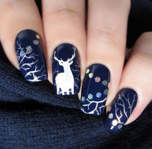 18-Christmas-Reindeer-Nail-Art-Designs-Ideas-2018-Xmas-Nails-9