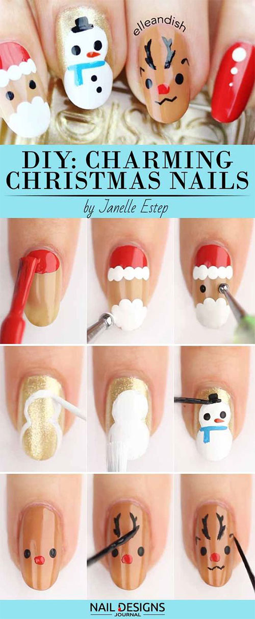20-Easy-Simple-Christmas-Nail-Art-Tutorials-For-Beginners-Learners-2018-4