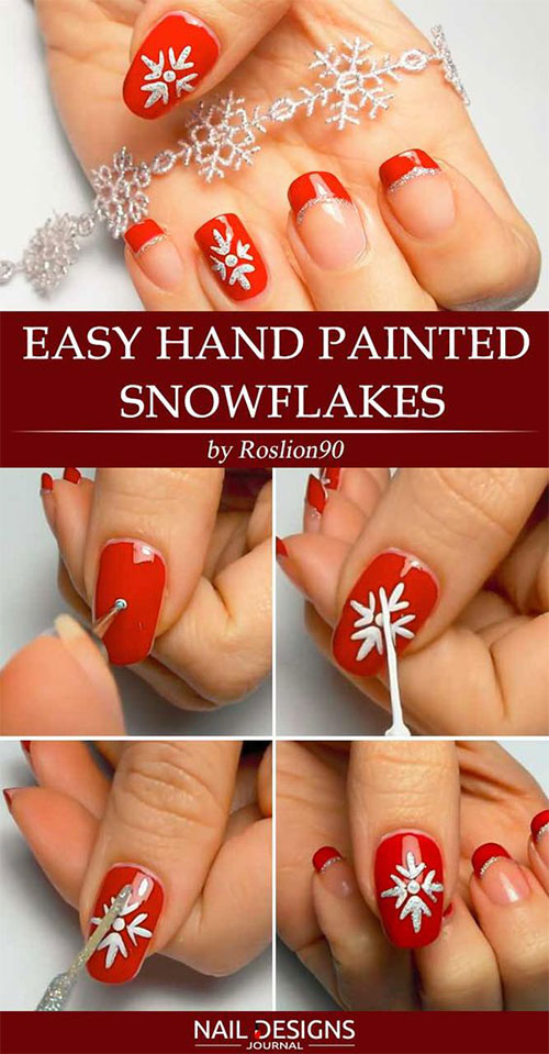 20-Easy-Simple-Christmas-Nail-Art-Tutorials-For-Beginners-Learners-2018-7
