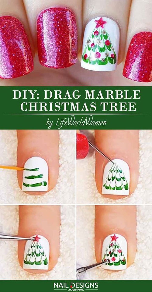 20-Easy-Simple-Christmas-Nail-Art-Tutorials-For-Beginners-Learners-2018-8