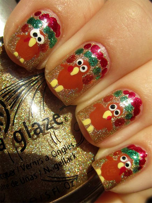 20-Happy-Thanksgiving-Nails-Art-Designs-Ideas-2018-12