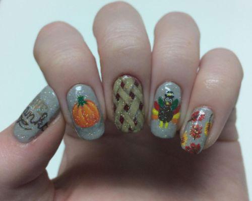 20-Happy-Thanksgiving-Nails-Art-Designs-Ideas-2018-18
