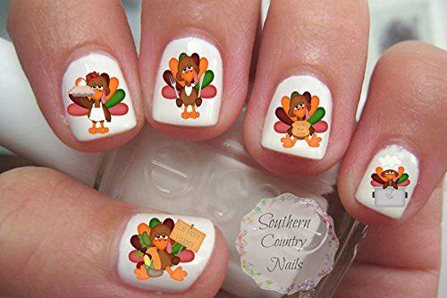 Awesome-Thanksgiving-Nail-Decals-Stickers-2018-3