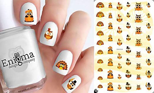 Awesome-Thanksgiving-Nail-Decals-Stickers-2018-4