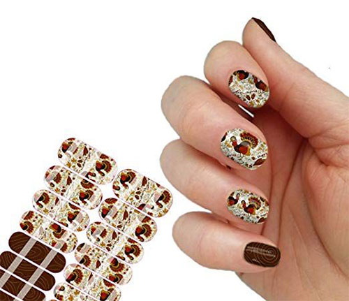 Awesome-Thanksgiving-Nail-Decals-Stickers-2018-6