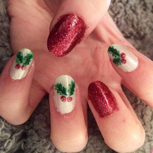 Christmas-Glitter-Acrylic-Nail-Art-Designs-2018-Xmas-Nails-10