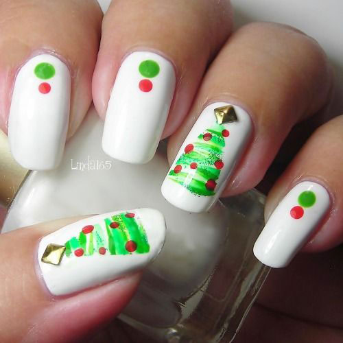 Christmas-Tree-Nail-Art-Designs-Ideas-2018-Xmas-Nails-4