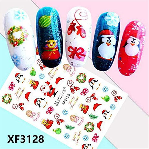 18-Cute-Christmas-Nail-Art-Stickers-Decals-2018-15