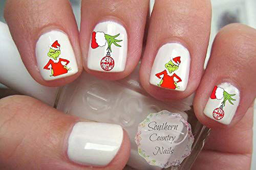 18-Cute-Christmas-Nail-Art-Stickers-Decals-2018-16