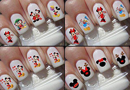 18-Cute-Christmas-Nail-Art-Stickers-Decals-2018-3