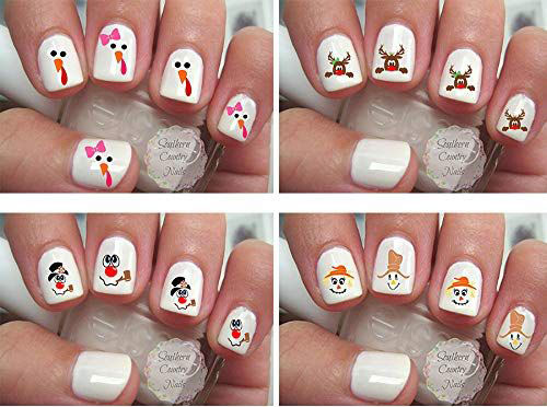 18-Cute-Christmas-Nail-Art-Stickers-Decals-2018-4