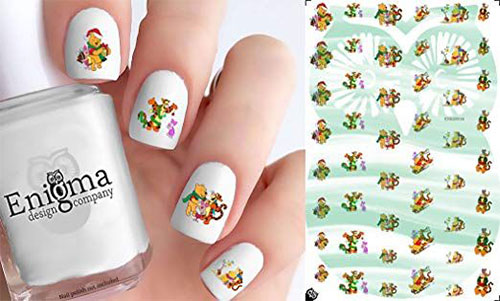 18-Cute-Christmas-Nail-Art-Stickers-Decals-2018-5