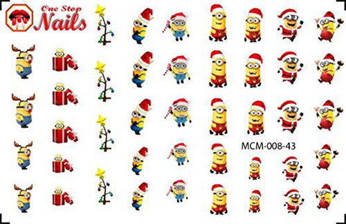 18-Cute-Christmas-Nail-Art-Stickers-Decals-2018-6