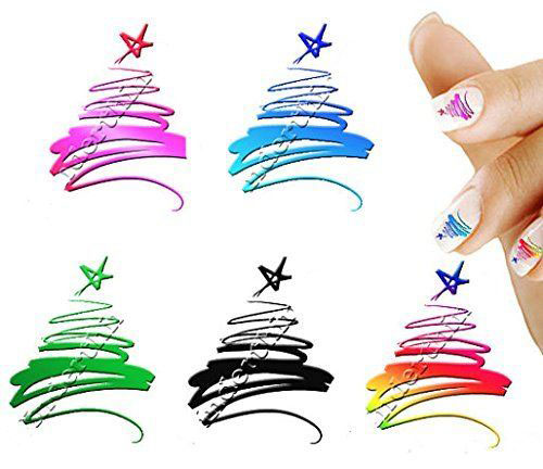 18-Cute-Christmas-Nail-Art-Stickers-Decals-2018-9