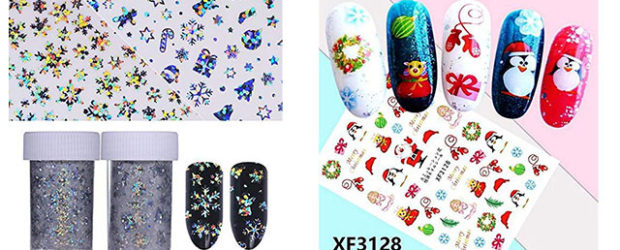18-Cute-Christmas-Nail-Art-Stickers-Decals-2018-F