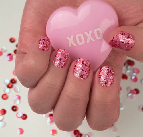 15-Easy-Valentine's-Day-Nail-Art-Designs-Ideas-2019-Vday-Nails-15