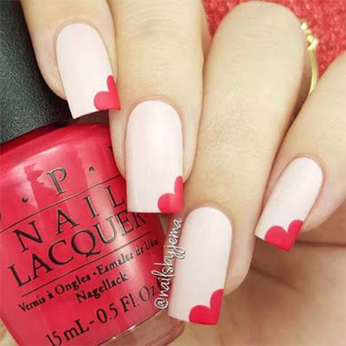15-Easy-Valentine's-Day-Nail-Art-Designs-Ideas-2019-Vday-Nails-2