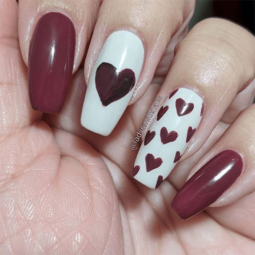 15-Easy-Valentine's-Day-Nail-Art-Designs-Ideas-2019-Vday-Nails-3