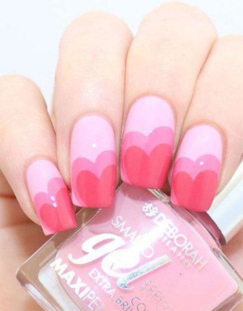 15-Easy-Valentine's-Day-Nail-Art-Designs-Ideas-2019-Vday-Nails-7