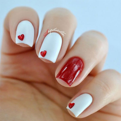 15 Easy Valentine S Day Nail Art Designs Ideas 2019 Vday Nails 8