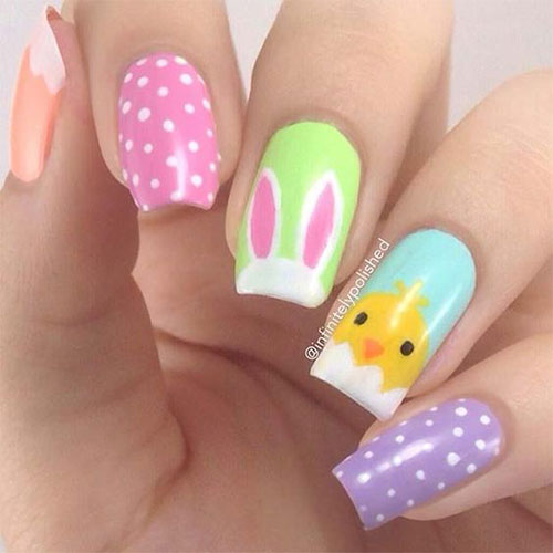15-Easter-Chick-Nails-Art-Designs-Ideas-2019-11