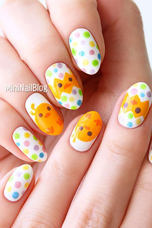 15-Easter-Chick-Nails-Art-Designs-Ideas-2019-12