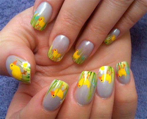 15-Easter-Chick-Nails-Art-Designs-Ideas-2019-15