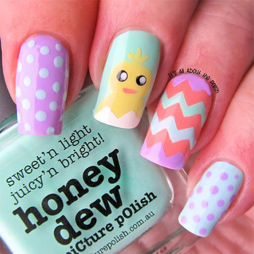 15-Easter-Chick-Nails-Art-Designs-Ideas-2019-2