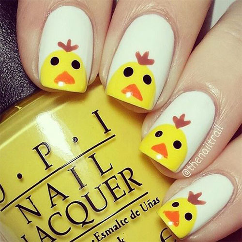 15-Easter-Chick-Nails-Art-Designs-Ideas-2019-3