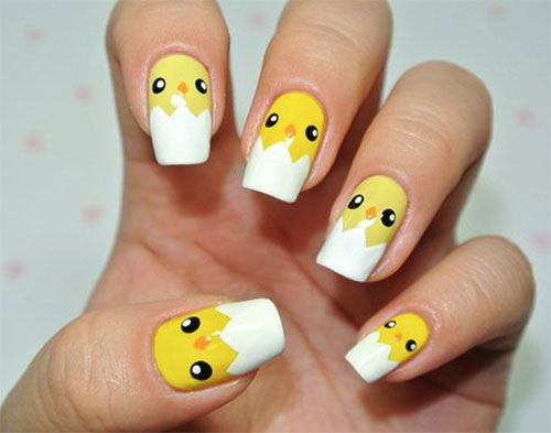 15-Easter-Chick-Nails-Art-Designs-Ideas-2019-4