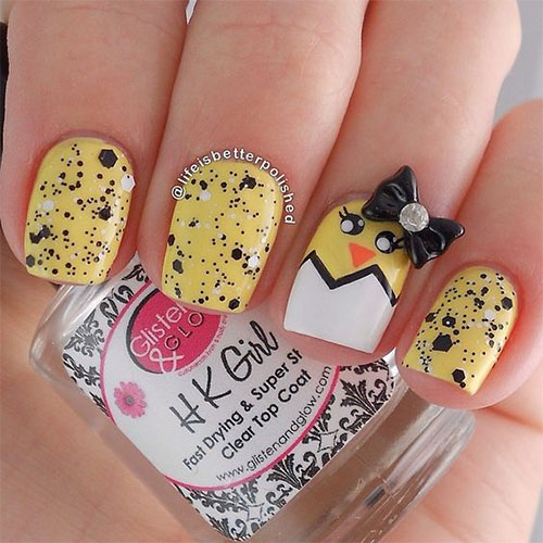 15-Easter-Chick-Nails-Art-Designs-Ideas-2019-5