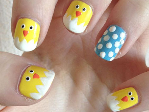 15-Easter-Chick-Nails-Art-Designs-Ideas-2019-7
