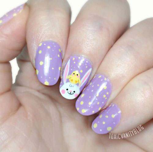 15-Easter-Chick-Nails-Art-Designs-Ideas-2019-8