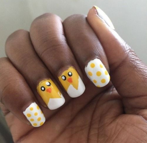 15-Easter-Chick-Nails-Art-Designs-Ideas-2019-9