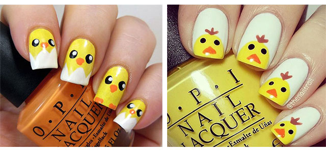 15-Easter-Chick-Nails-Art-Designs-Ideas-2019-F