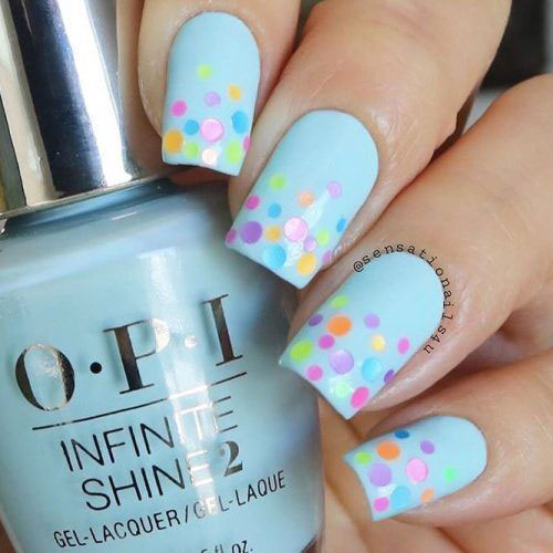 15 Simple & Easy Easter Nails Art Designs & Ideas 2019