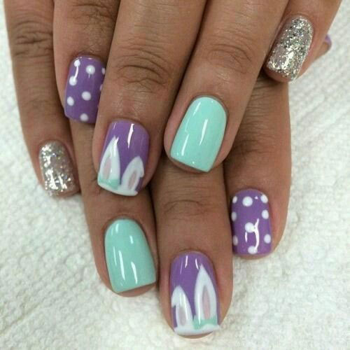 15-Simple-Easy-Easter-Nails-Art-Designs-Ideas-2019-7