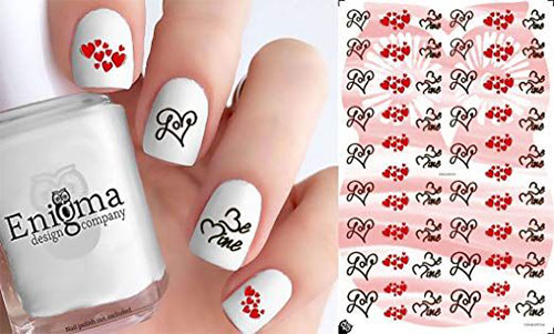 15-Step-By-Step-Valentines-Day-Nail-Art-Tutorials-For-Learners-2019-4