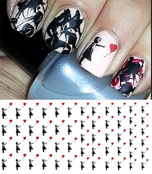 15-Step-By-Step-Valentines-Day-Nail-Art-Tutorials-For-Learners-2019-9