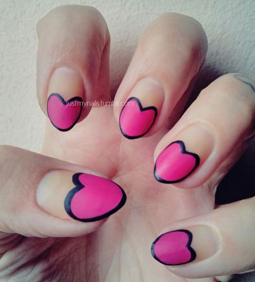 15-Valentine's-Day-Heart-Nail-Art-Designs-Ideas-2019-Vday-Nails-6